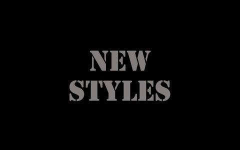 Newly Introduced Styles