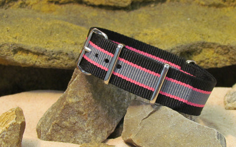 The 2025 Nato Strap w/ Polished Hardware 22mm