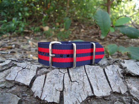 The Commander NATO Strap w/ Polished Hardware 20mm