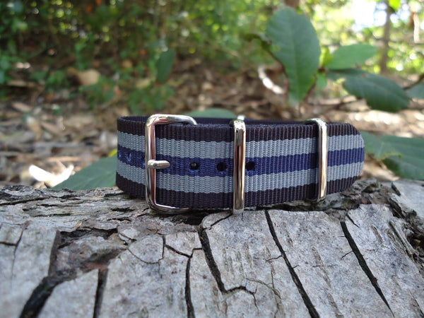 The Odyssey NATO Strap w/ Polished Hardware 20mm