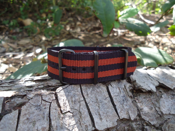 The Eclipse NATO Strap w/ PVD Hardware (Stitched) 20mm