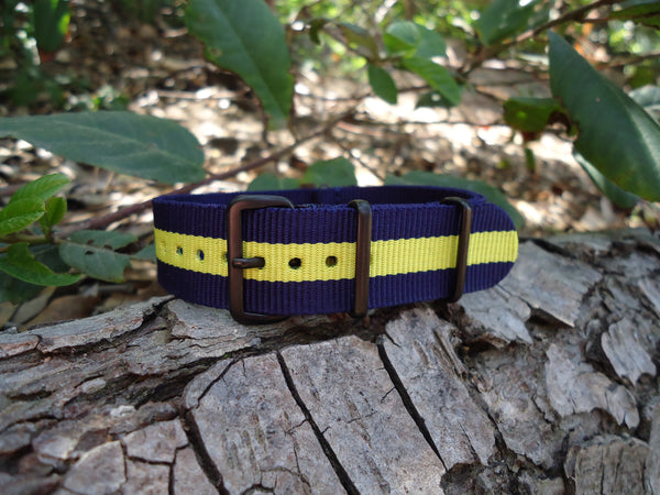 The SEAL NATO Strap w/ PVD Hardware (Stitched) 18mm