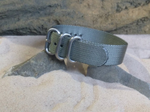 NEW - The Destroyer Z3™ Ballistic Nylon Strap w/ Brushed Hardware 20mm