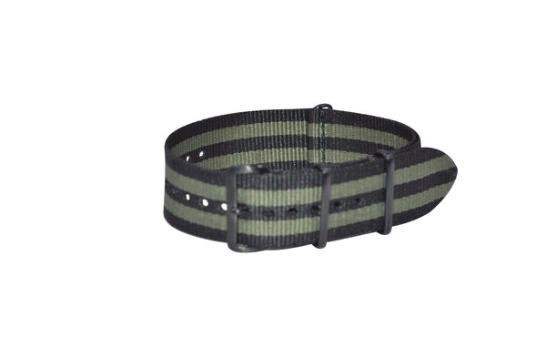 The Grove XII Ballistic Nylon Strap w/ PVD Hardware (Stitched) 20mm