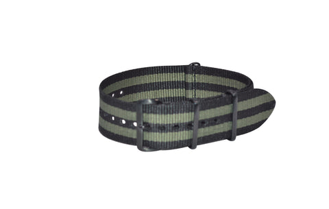 The Grove XII Ballistic Nylon Strap w/ PVD Hardware (Stitched) 18mm