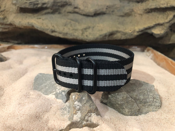 NEW - Classic Bond Z3™ Ballistic Nylon Strap w/ PVD Hardware 24mm