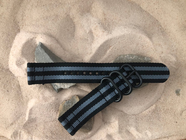 NEW - The Black Ops II Z3™ Two-Piece Ballistic Nylon Strap w/ PVD Hardware 20mm