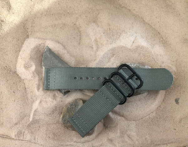 NEW - The Destroyer Z3™ Two-Piece Ballistic Nylon Strap w/ PVD Hardware (Stitched) 20mm