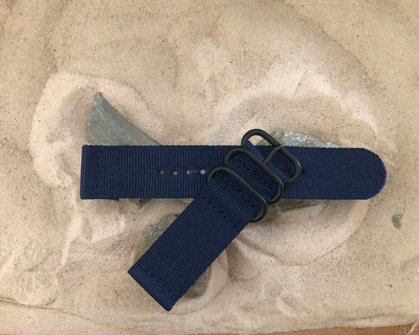 NEW - The Pacific Z3™ Two-Piece Ballistic Nylon Strap w/ PVD Hardware (Stitched) 20mm