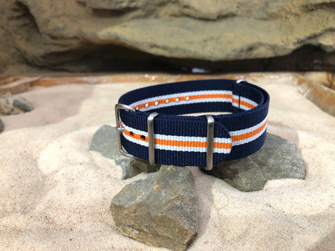 NEW - The Triton Ballistic Nylon Strap w/ Brushed Hardware 18mm