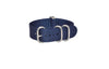 The Pacific Z5™ Ballistic Nylon Strap  w/ Matte Hardware (Stitched) 26mm