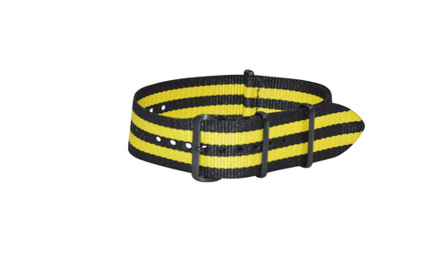 The Sunray XII Ballistic Nylon Strap w/ PVD Hardware (Stitched) 18mm
