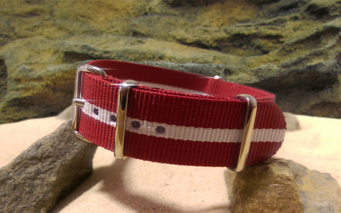 The Alpine Ballistic Nylon Strap w/ Polished Hardware 20mm