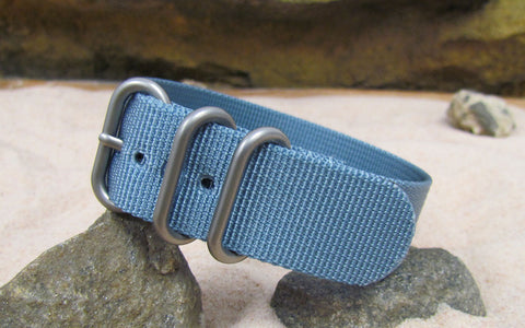 The Baltic Z3™ Ballistic Nylon Strap w/ Matte Hardware (Stitched) 18mm