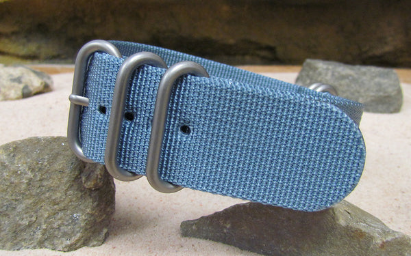 The Baltic XII Z5™ Ballistic Nylon Strap w/ Matte Hardware (Stitched) 26mm