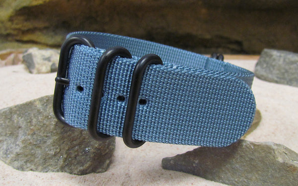 The Baltic XII Z5™ Ballistic Nylon Strap w/ PVD Hardware (Stitched) 26mm