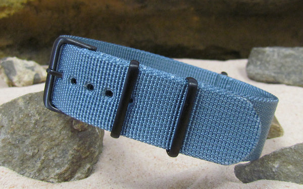 The Baltic XII Nato Strap w/ PVD Hardware (Stitched) 26mm