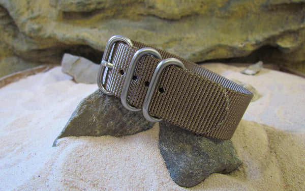 NEW - The Berenger XII Z5™ Ballistic Nylon Strap w/ Brushed SS Hardware 24mm