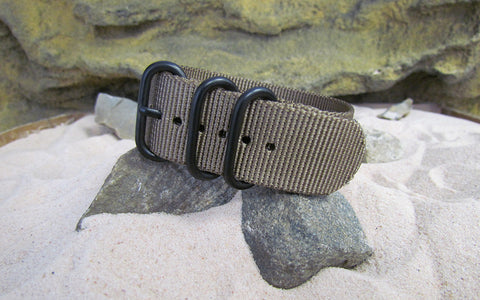 The Berenger Z3™ Ballistic Nylon Strap w/ PVD Hardware 22mm
