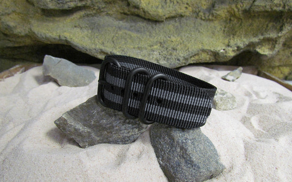 The Black-Ops II Z3™ Nato Strap w/ PVD Hardware (Stitched) 22mm