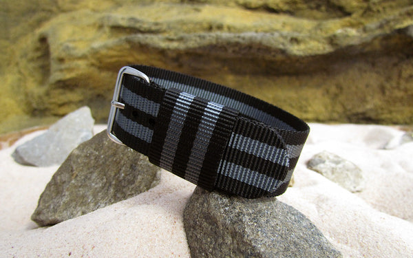 The Black Ops II RAF Military Style w/ Polished Hardware (Stitched) 20mm