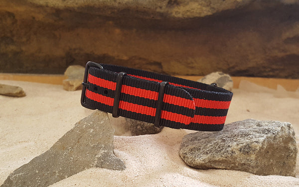 The Cobra NATO Strap w/ PVD Hardware 20mm
