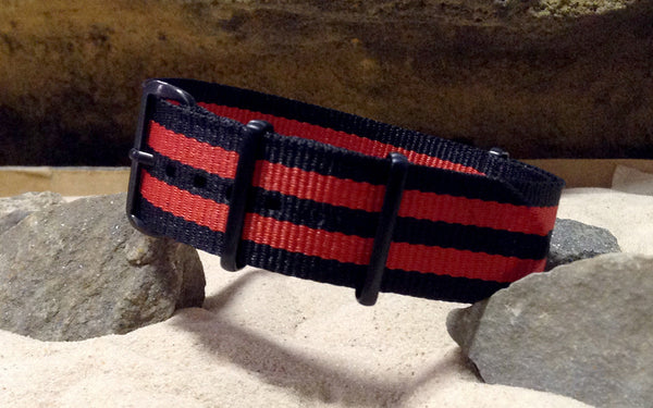 The NEW Cobra XII NATO Strap w/ PVD Hardware (Stitched) 20mm