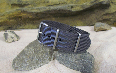 The Crew Ballistic Nylon Strap w/ Brushed Hardware (Stitched) 18mm
