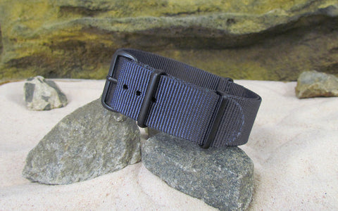 The Crew XII Ballistic Nylon Strap w/ PVD Hardware (Stitched) 18mm
