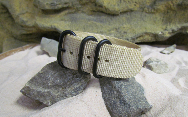 The Desert Dweller Z3™ Nato Strap w/ PVD Hardware (Stitched) 20mm
