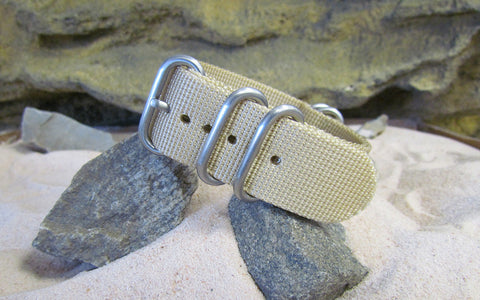 The Desert Dweller Z5™ Ballistic Nylon Strap w/ Brushed SS Hardware 20mm