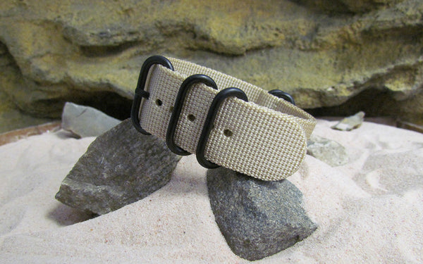 The Desert Dweller Z5™ Ballistic Nylon Strap w/ PVD Hardware (Stitched) 20mm
