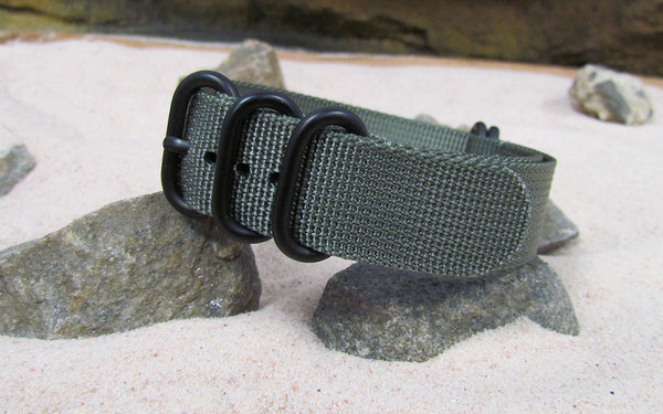 The Destroyer Z5™ Nato Strap w/ PVD Hardware (Stitched) 26mm