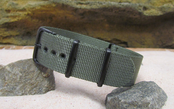 The Destroyer XII Ballistic Nylon Strap w/ PVD Hardware (Stitched) 22mm