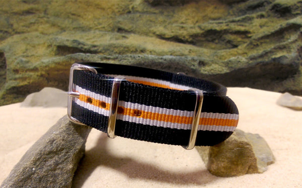 The Galaxy Ballistic Nylon Strap w/ Polished Hardware 20mm