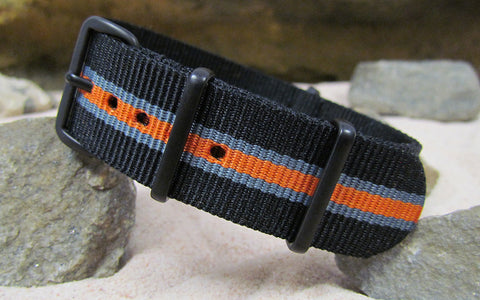 The Gamma NATO Strap w/ PVD Hardware (Stitched) 22mm
