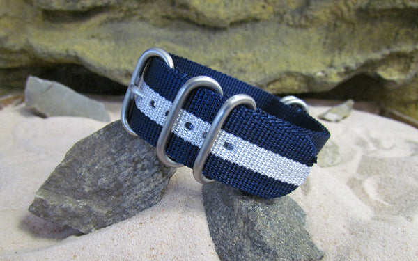 The Gentleman Z5™ Ballistic Nylon Strap w/ Brushed SS Hardware 20mm