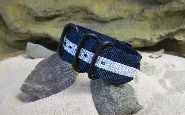 The Gentleman Z5™ Ballistic Nylon Strap w/ PVD Hardware 22mm