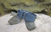 The Gray Matter Z3™ Ballistic Nylon Strap w/ Brushed SS Hardware (Stitched) 24mm
