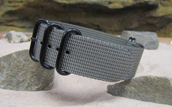 The Gray Matter XII Z5™ Ballistic Nylon Strap w/ PVD Hardware 18mm
