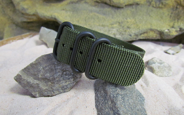 The Infantry Z3™ Ballistic Nylon Strap w/ PVD Hardware 20mm