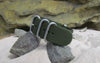 The Infantry Z5™ Ballistic Nylon Strap w/ Brushed SS Hardware (Stitched) 24mm