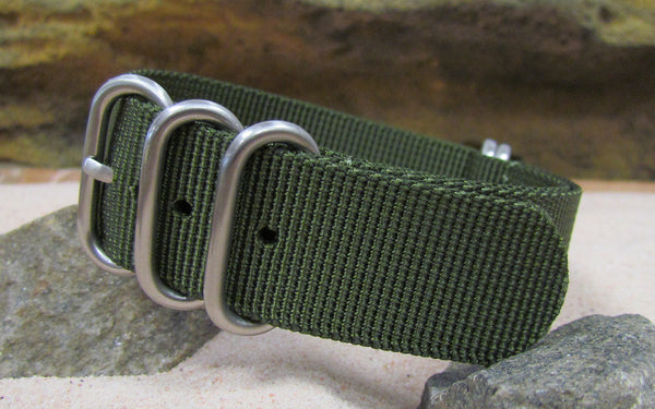 The Infantry XII Z5™ Ballistic Nylon Strap w/ Brushed SS Hardware (Stitched) 20mm