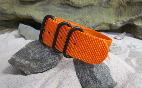 The Inmate 5150 Z3™ Ballistic Nylon Strap w/ PVD Hardware (Stitched) 18mm