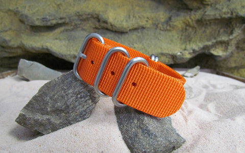 The Inmate 5150 Z5™ Ballistic Nylon Strap w/ Brushed SS Hardware (Stitched) 24mm