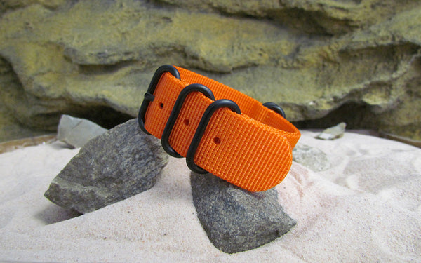 The Inmate 5150 Z5™ Ballistic Nylon Strap w/ PVD Hardware (Stitched) 22mm