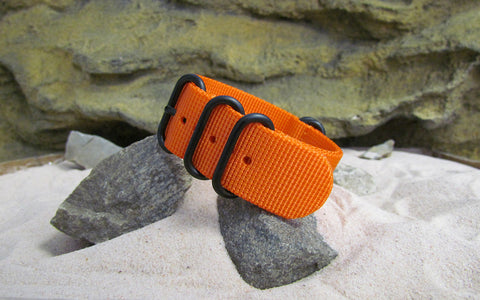 The Inmate 5150 Z5™ Ballistic Nylon Strap w/ PVD Hardware (Stitched) 20mm