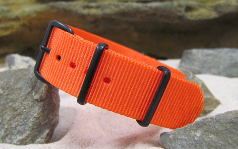 The Inmate 5150 Ballistic Nylon Strap w/ PVD Hardware (Stitched) 18mm