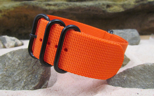 The Inmate XII Z5™ Ballistic Nylon Strap w/ PVD Hardware 22mm
