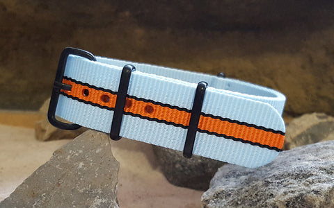 The Le Mans II Ballistic Nylon Strap w/ PVD Hardware 20mm